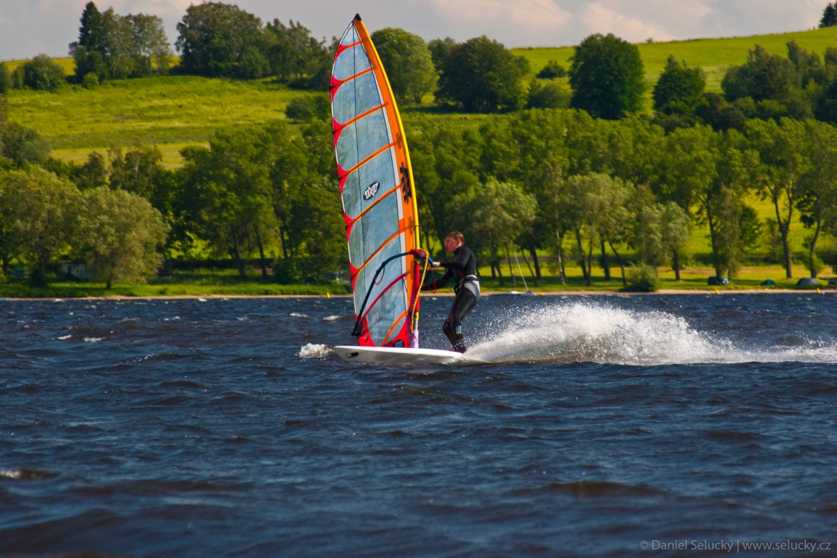 Windsurfing Lipno