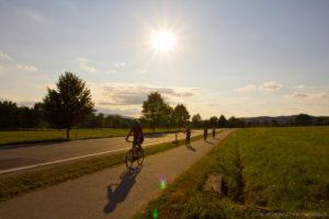 Cyklostezka kolem penzionu