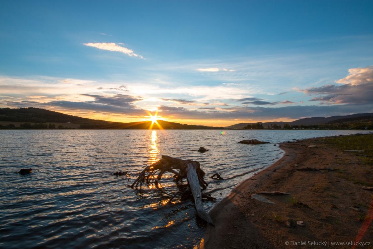 Lipenský západ slunce